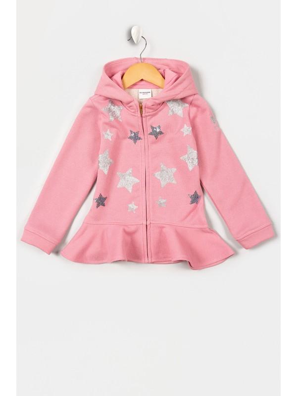 U.S. Polo Assn. Kız Çocuk Sweatshirt 50210555-Vr041