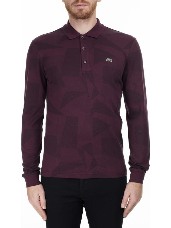 Lacoste T Shirt Erkek Polo S PH1801 01B