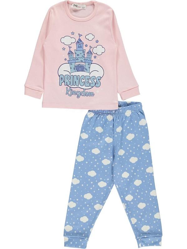 Civil Girls Kız Çocuk Pijama Takım 2-5 Yaş Pudra Pembe