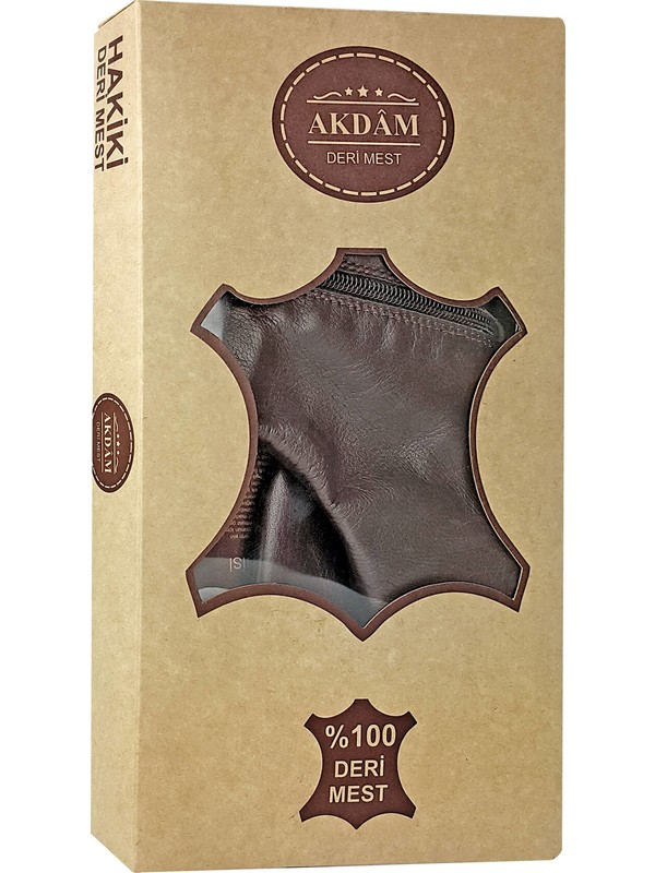 İhvan Akdam Dana Derisi Mest (Kahverengi)-1118