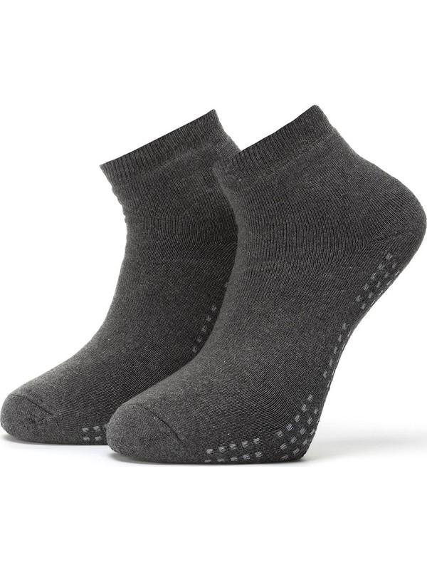 Ciorap 3'lü Erkek Taban Altı Noktalı Havlu Çorap 4456-A3