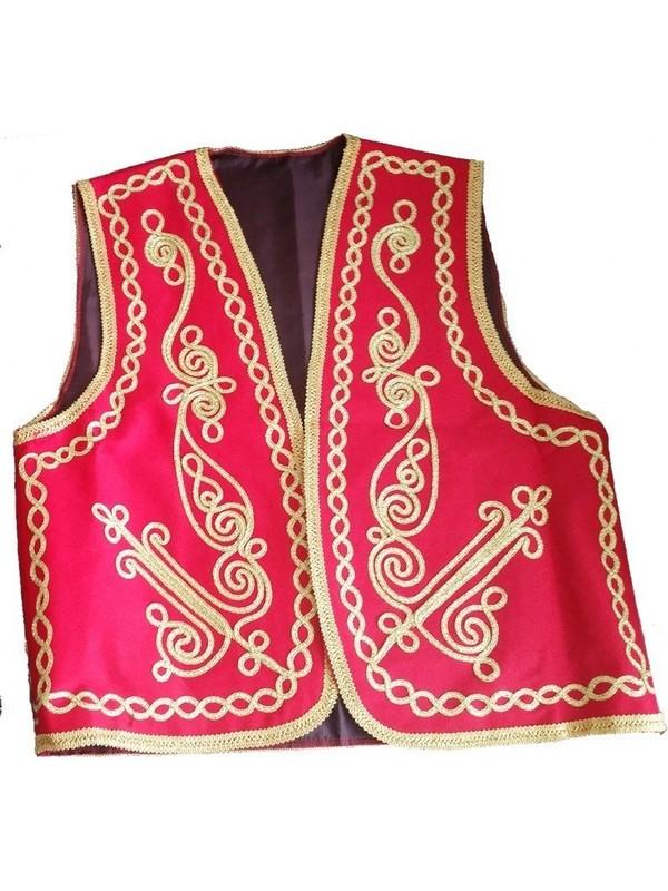 Dilek Kostüm Osmanlı Yeleği Kına Erkek Kıyafeti