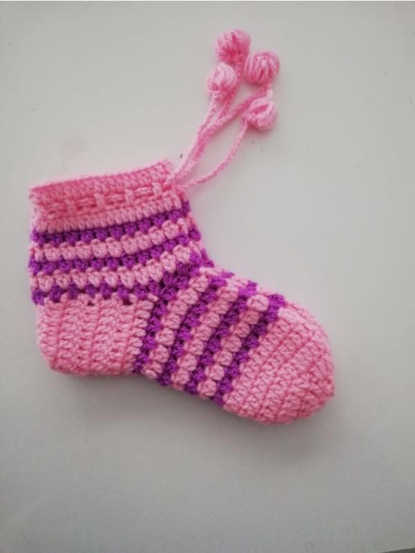 Nuh Home Kışlık Çorap El Yapımı