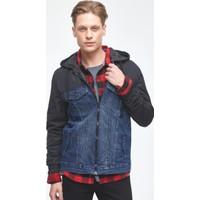 Ltb Elton Dark Royal Wash Erkek Jeans Ceket