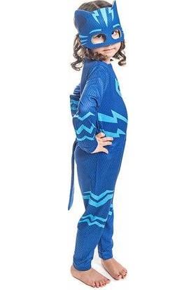 Bebebebek Pj Masks Kostüm - Pijamaskeliler Kostümü-Pjamasks Kostüm -Orjinal