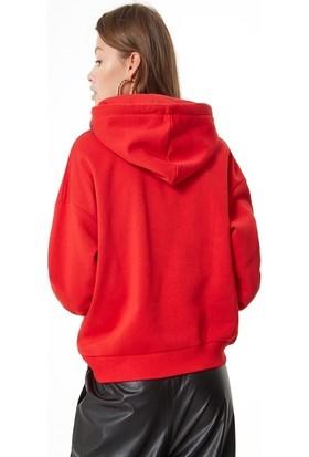 Coten Concept Ejderha Baskılı Sweatshirt