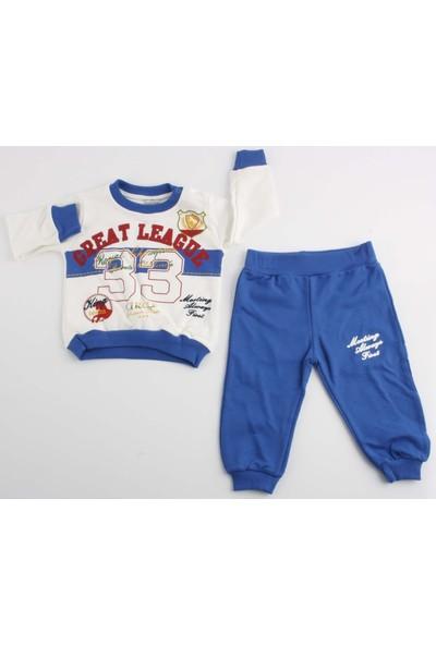 Miniço Junior Class Great League 33 Nakışlı 2'li Erkek Takım Mavi