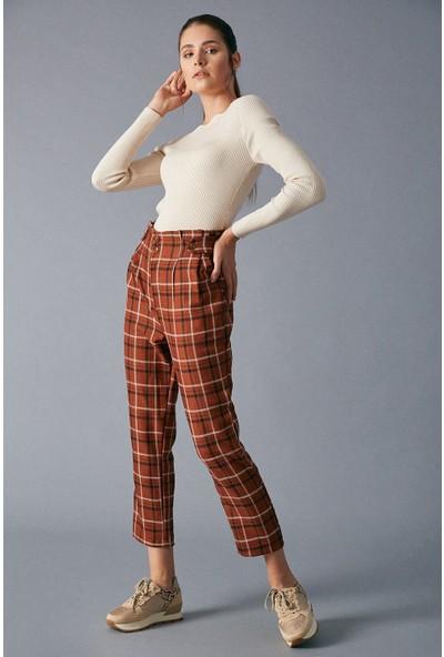 Robin Ekoseli Kadın Pantolon