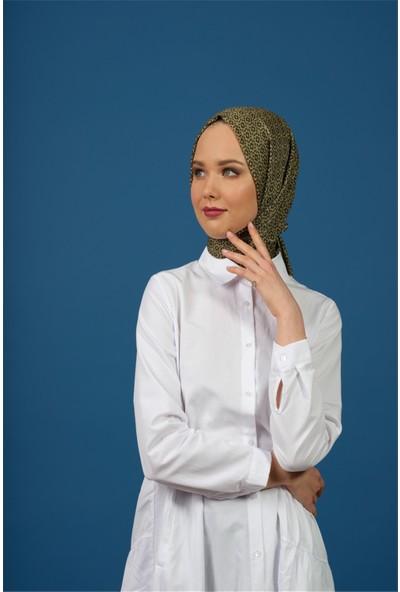 Moda Ekru Frezya Şal Haki 101