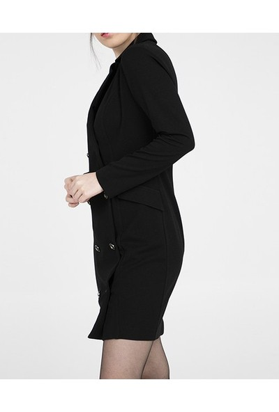 Jument Uzun Kol Ceket Elbise