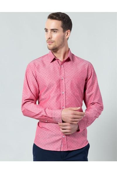 Tudors Klasik Fit Desenli Gömlek
