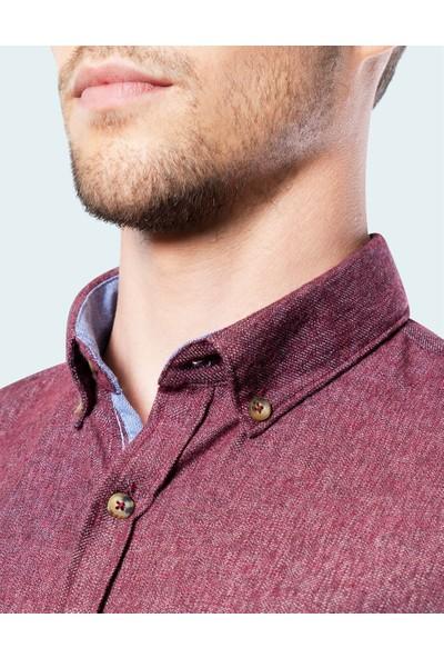 Tudors Slim Fit Kışlık Gömlek