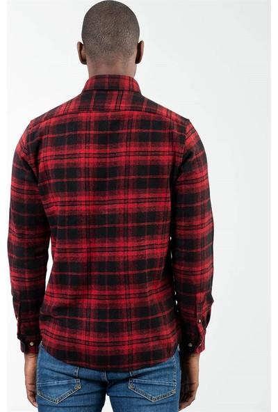 Tudors Classic Fit Long Slv Kışlık Erkek Gömlek