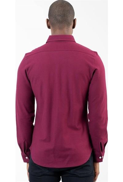 Tudors Slim Fit Long Slv Bento Erkek Gömlek