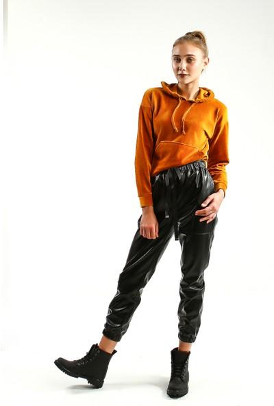 Collezione Kadın Safran Regular Kapüşonlu Sweatshirt