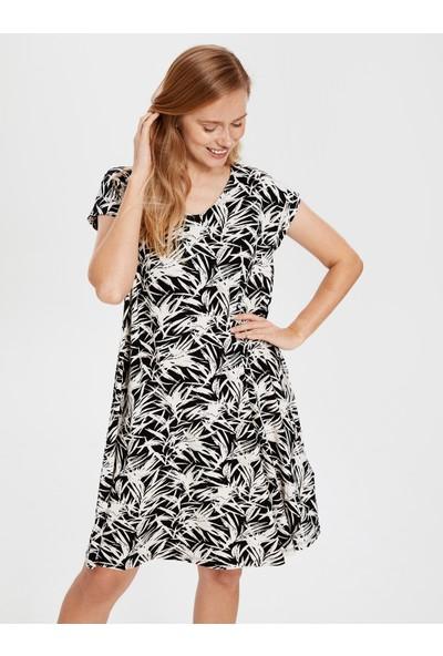 LC Waikiki Kadın Desenli Elbise