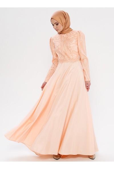 Mileny Dantelli Abiye Elbise