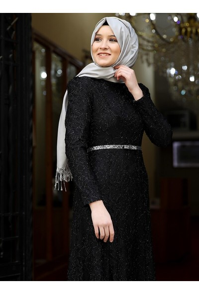 Amine Hüma Hayal Abiye Elbise