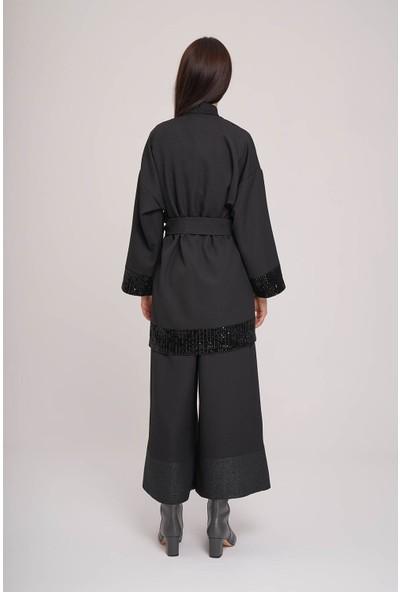 Mizalle Pul Detaylı Kimono