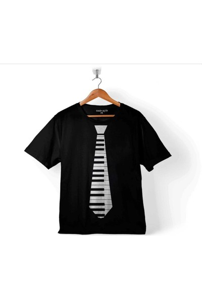 Kendim Seçtim Kravat Piyano Piano Tie Suit Up Çocuk Tişört