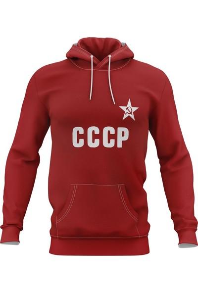 Freysport Cccp Kapşonlu Erkek Sweatshirt
