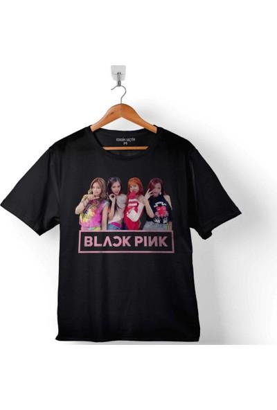 Kendim Seçtim Black Pink Blackpink Kaset Müzik Güney Kore 2 Çocuk Tişört