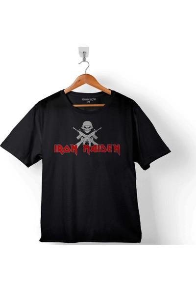 Kendim Seçtim Iron Maiden Logo The Book Of Souls 2 Çocuk Tişört