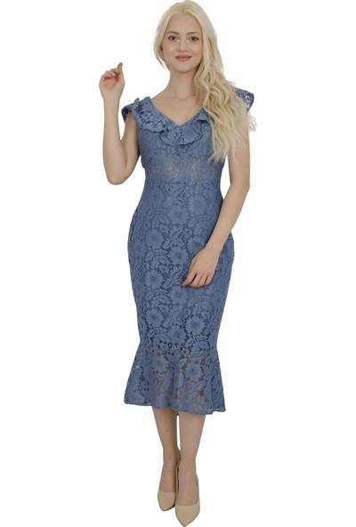 Ardanewline Kadın İndigo Elbise 130137.98