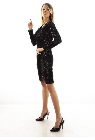 Ardanewline Kadın Siyah Elbise 9704628.01