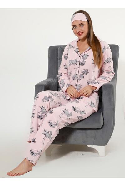 Akbeniz WellSoft Kadın Pijama Takımı 8048