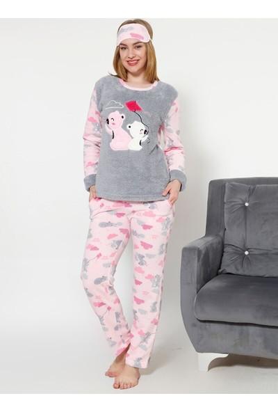 Akbeniz WellSoft Kadın Pijama Takımı 8032