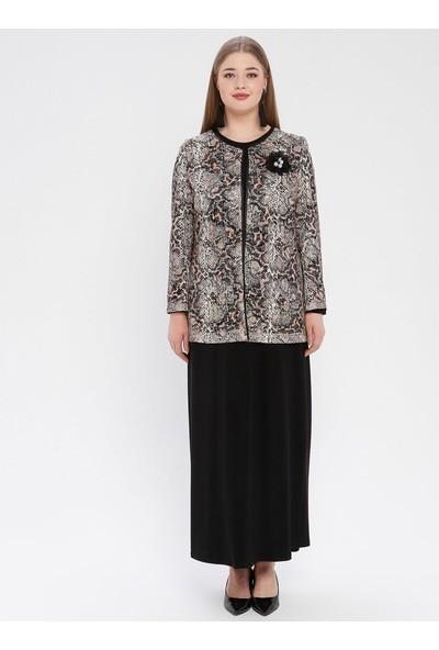 Arıkan Kadın Ceket Elbise Abiye Takım