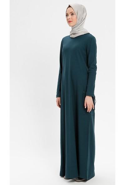 Nurgül Çakır Kadın Cepleri Püsküllü Spor Elbise