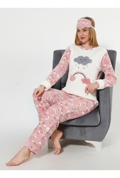Akbeniz WellSoft Kadın Pijama Takımı 8037