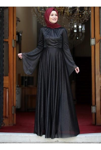 Amine Hüma Kadın Vera Abiye Siyah