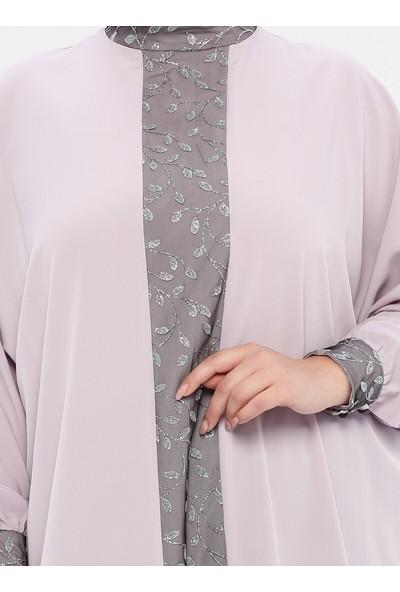 Nilüfer Kamacıoğlu Kadın Garnili Tunik Lila
