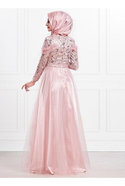 Moda Sinanlar Kadın Lina Abiye Elbise