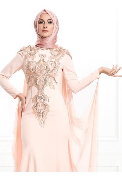 Moda Sinanlar Kadın Hilal Abiye Elbise