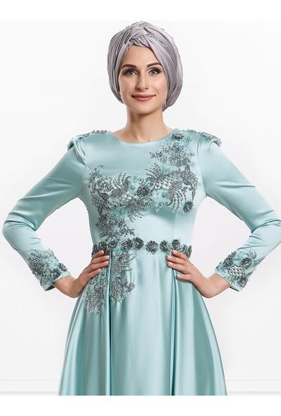 Moda Sinanlar Kadın Nergis Abiye Elbise