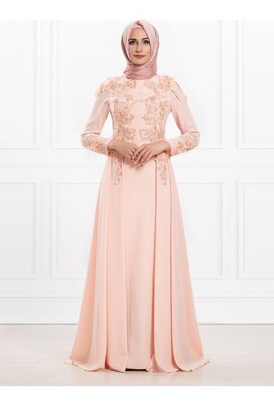 Moda Sinanlar Kadın Yonca Abiye Elbise