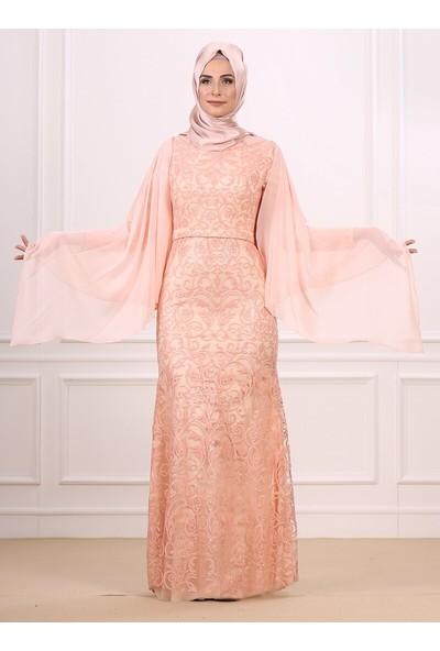 Moda Sinanlar Kadın Kuğu Abiye Elbise
