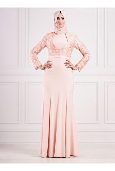 Moda Sinanlar Kadın Meral Abiye Elbise