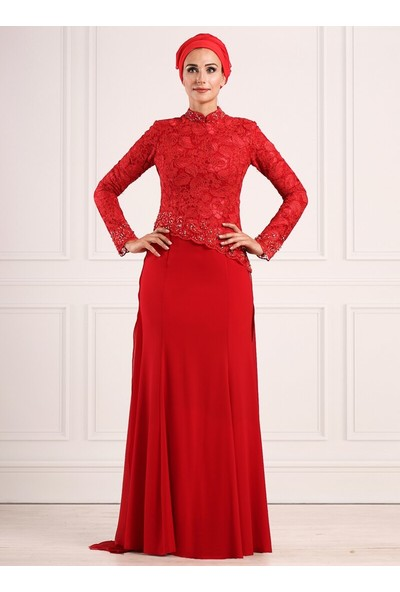 Moda Sinanlar Kadın Açelya Abiye Elbise
