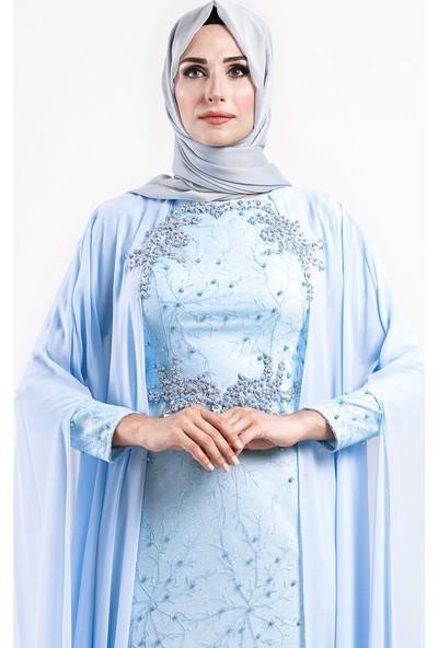 Moda Sinanlar Kadın Filiz Abiye Elbise