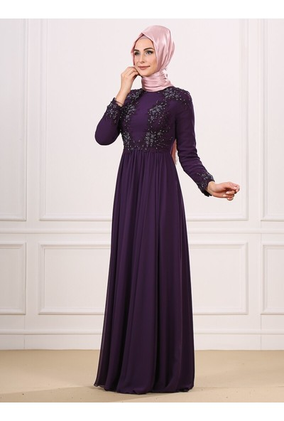 Moda Sinanlar Kadın Ebrar Abiye Elbise