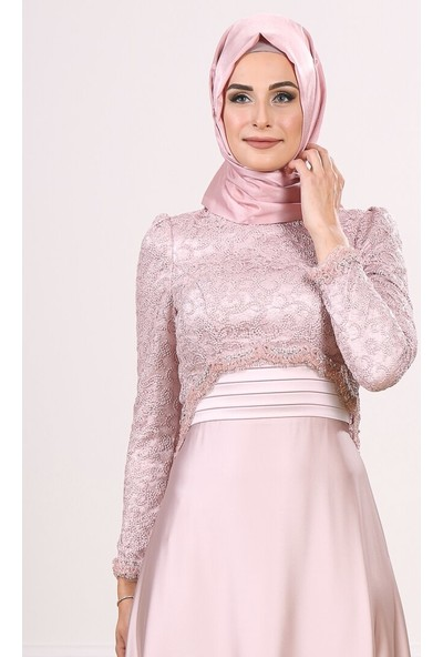 Moda Sinanlar Kadın İnci Abiye Elbise