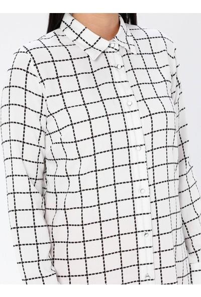 Gelince Kadın Desenli Gömlek Tunik