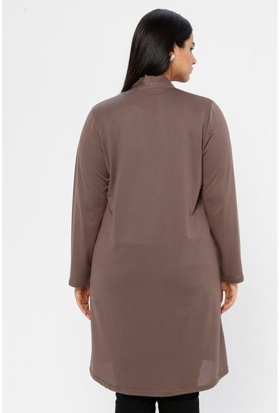 Gelince Kadın Düğme Detaylı Ceket
