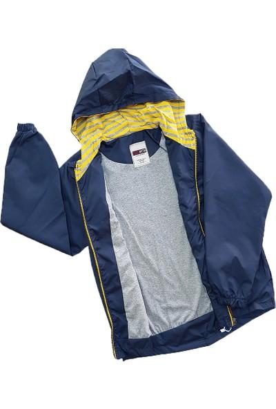 Esso Erkek Çocuk Kapşonlu Yağmurluk