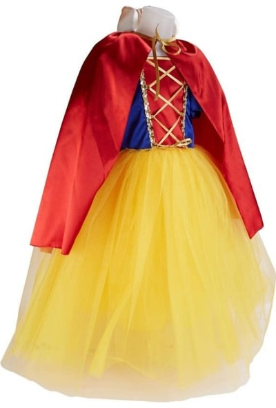 Janjan Kostüm Kız Çocuk Pamuk Prenses Kostümü